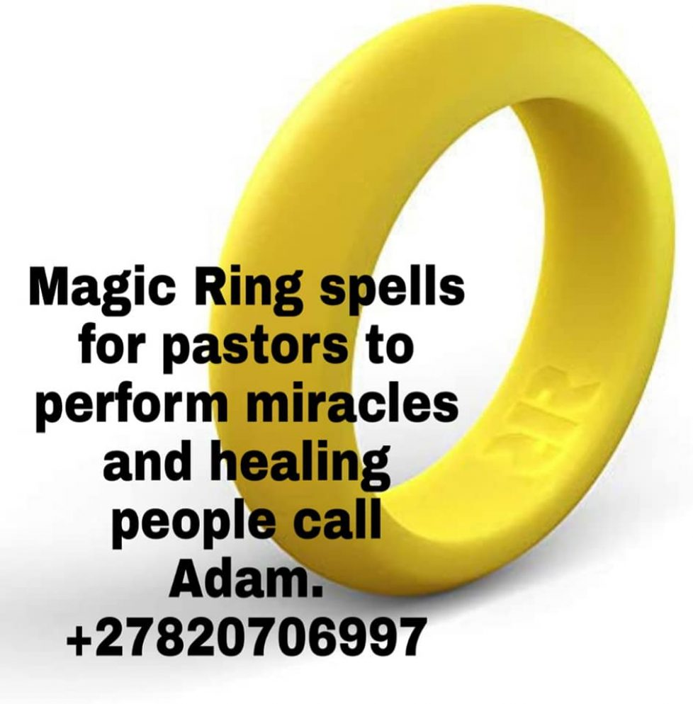 PASTOR'S DRAWING MAGIC RING FOR LUCK&SUCCESS +27820706997