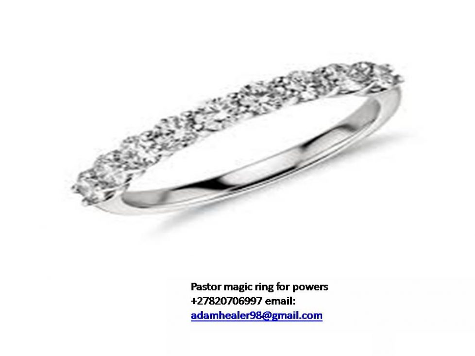 PASTOR'S FORTUNE TELLER MAGIC RING SPELLS FOR HEALING +27820706997