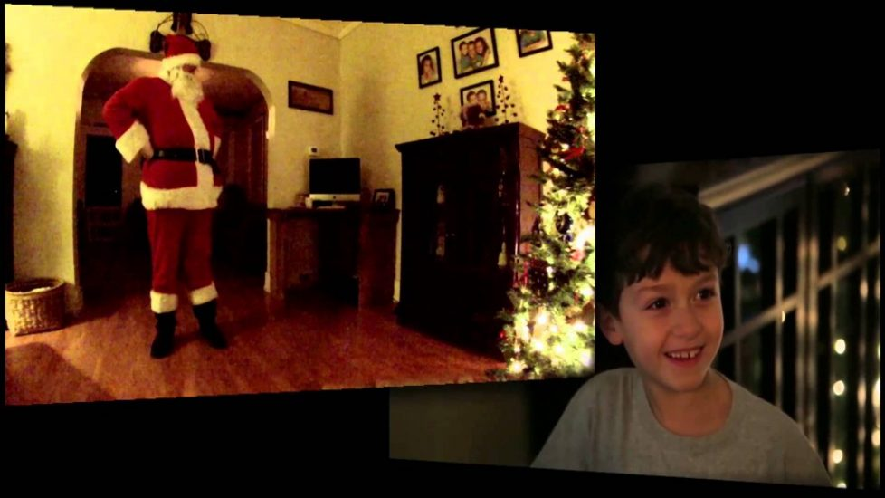 Kid Catches Santa Claus On His Hidden Camera! Watch His Reaction!